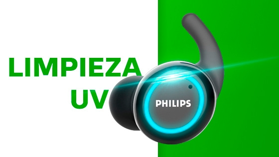True Wireless Philips deportivo sport