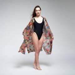 CAROLACASTILLO DESIGN - Kimono De Algodón Mujer