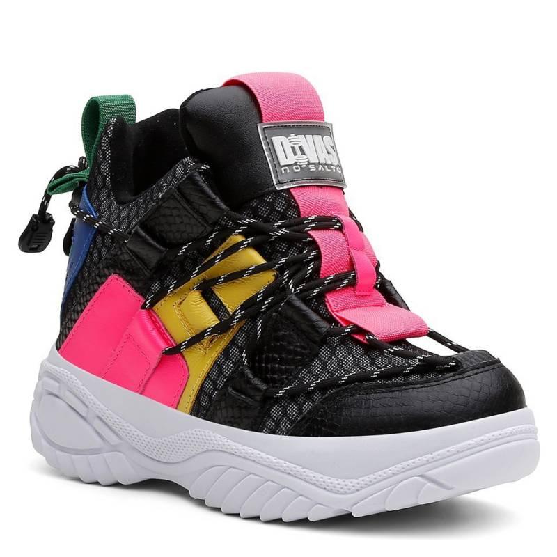 Divas Sneaker No Salto Zapatillas Mujer Color