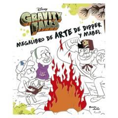 EDITORIAL PLANETA - Megalibro De Arte De Dipper Y Mabel