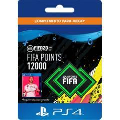 Sony - FIFA 20 Ult Team Points - 12000 Código Digital