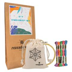 REVESDERECHO - Kit Bordado Mandala