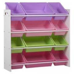 MI PEQUE - organizador juguetes Pastel