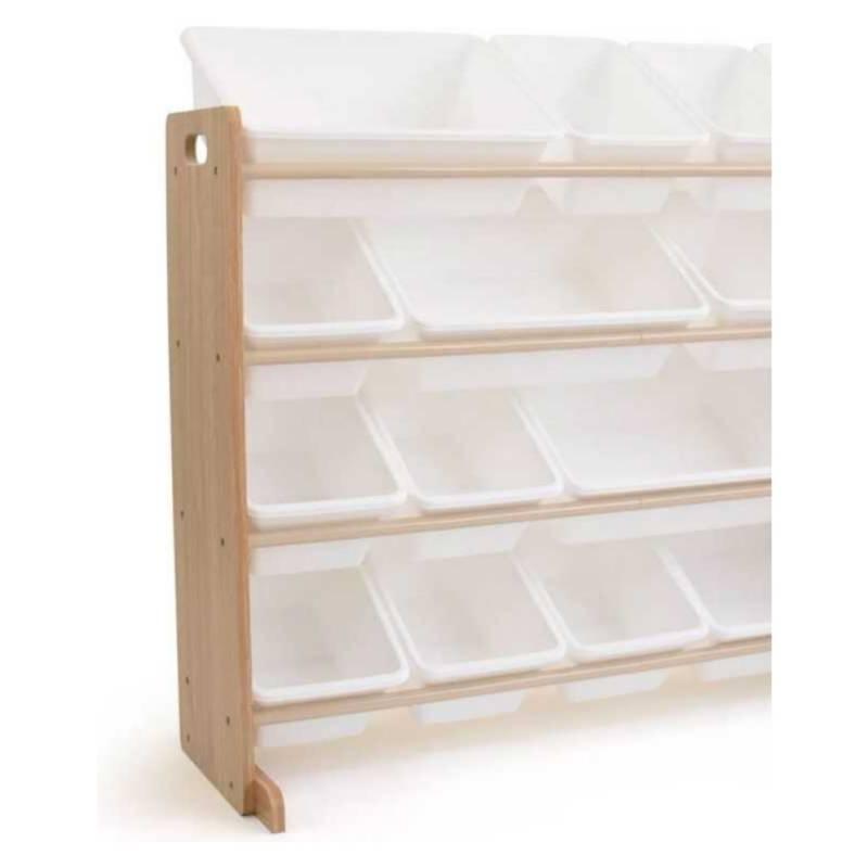 MI PEQUE - Organizador Juguetes Natural Blanco