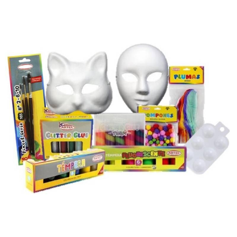 Arte y Costura - Pack Mascaras Entretenidas