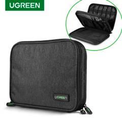 UGREEN - Bolso organizador para iPad y accesorios (Gris)