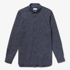 LACOSTE - Camisa Manga Larga Hombre