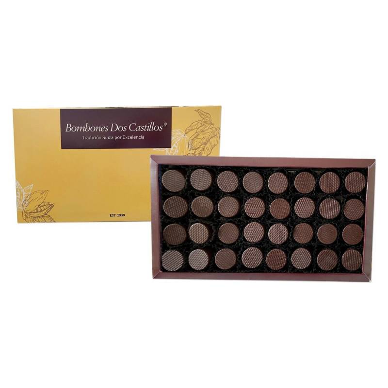 BOMBONES DOS CASTILLOS - Caja Chocolate Bitter 260 Gr