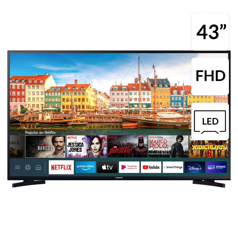 "SAMSUNG - LED 43"" T5202 FHD Smart TV"
