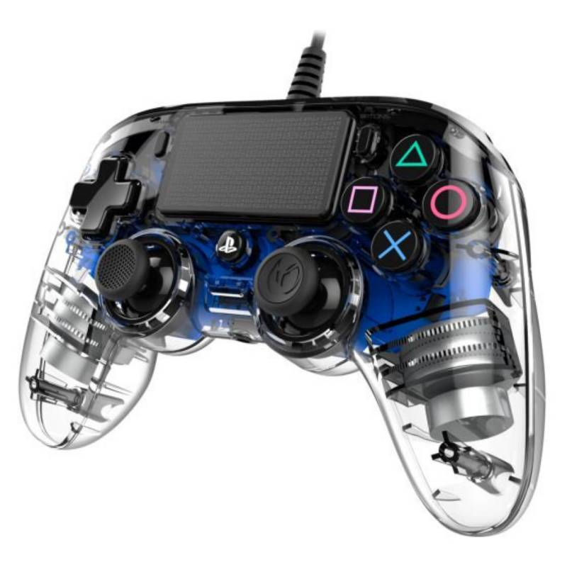 NACON - Control Nacon Wired Illuminated Ps4  Blue