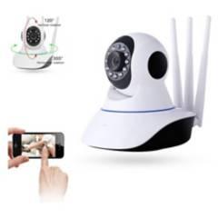 GENERICA - Camara Ip Wifi Hd Motorizada Vision Nocturna 360