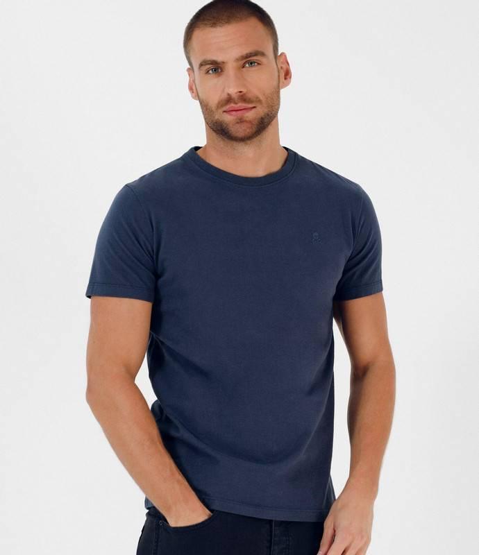 Scalpers - Camiseta Eco Básica Algodón Calavera