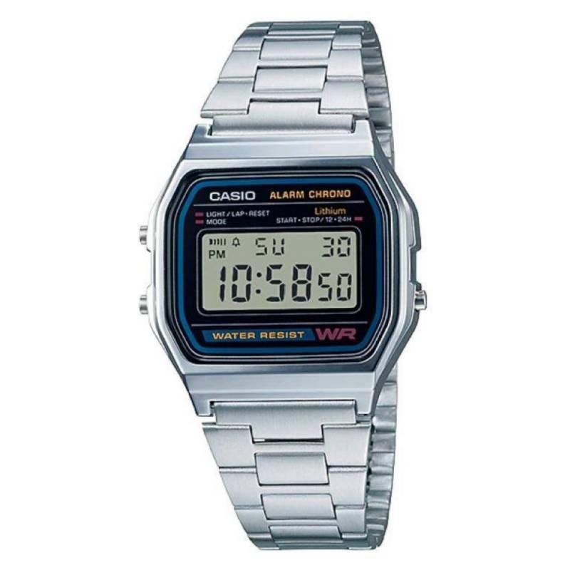 Casio - Reloj Casio Hombre Clásico Metálico A-158Wa-1