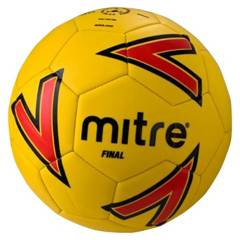 MITRE - Balon Final Amarillo/Rojo N 4