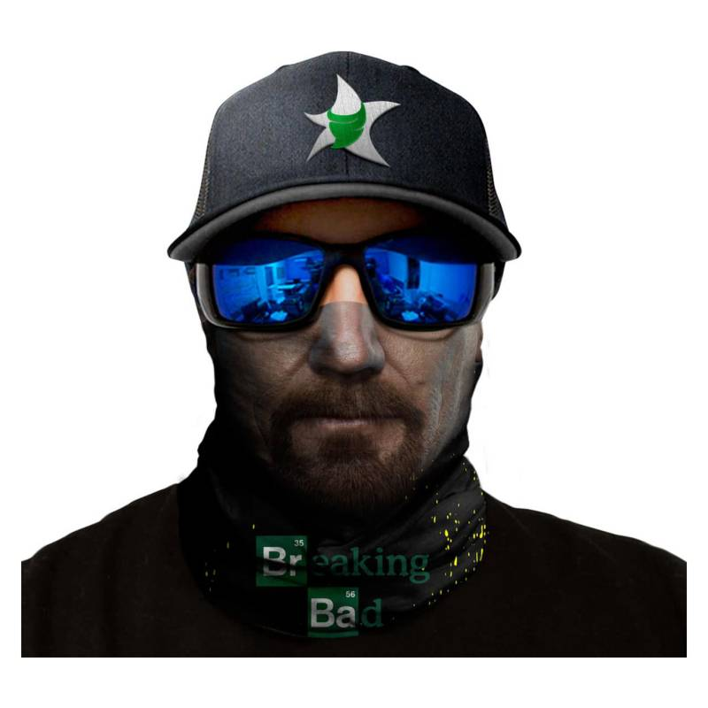 Bandana Exclusiva Walter Breaking Bad