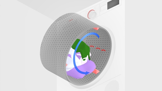 SensitiveDrying system