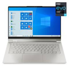"Lenovo - Notebook Yoga 9i Intel Core i5-1135G7 16GB RAM 1TB SSD Intel Iris Xe Graphics, 14"" 4K 500N"