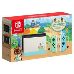 Nintendo - Nintendo Switch Limited Animal Crossing Edition