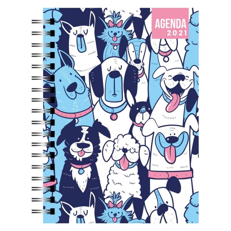 Dentopapel - Agenda / Planer 2021 Blue Dogs
