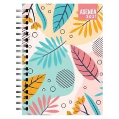 Dentopapel - Agenda / Planer 2021 Pastel Flowers