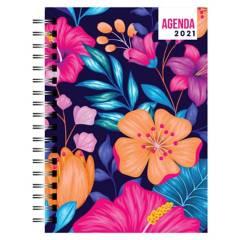 Dentopapel - Agenda / Planer 2021 Bright Flowers