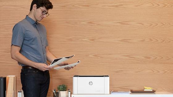 Impresora HP Laser 107a diseñada para tus necesidades