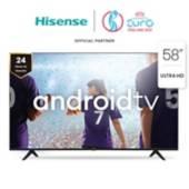 """HISENSE - LED 58"""" 58A6150Fs 4K HDR Android Smart TV 2020/21"""