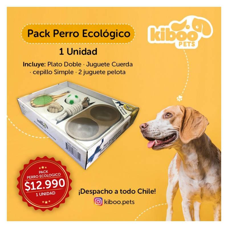 Kiboo Pets - Pack Perro - Kiboo - Perro Ecológico