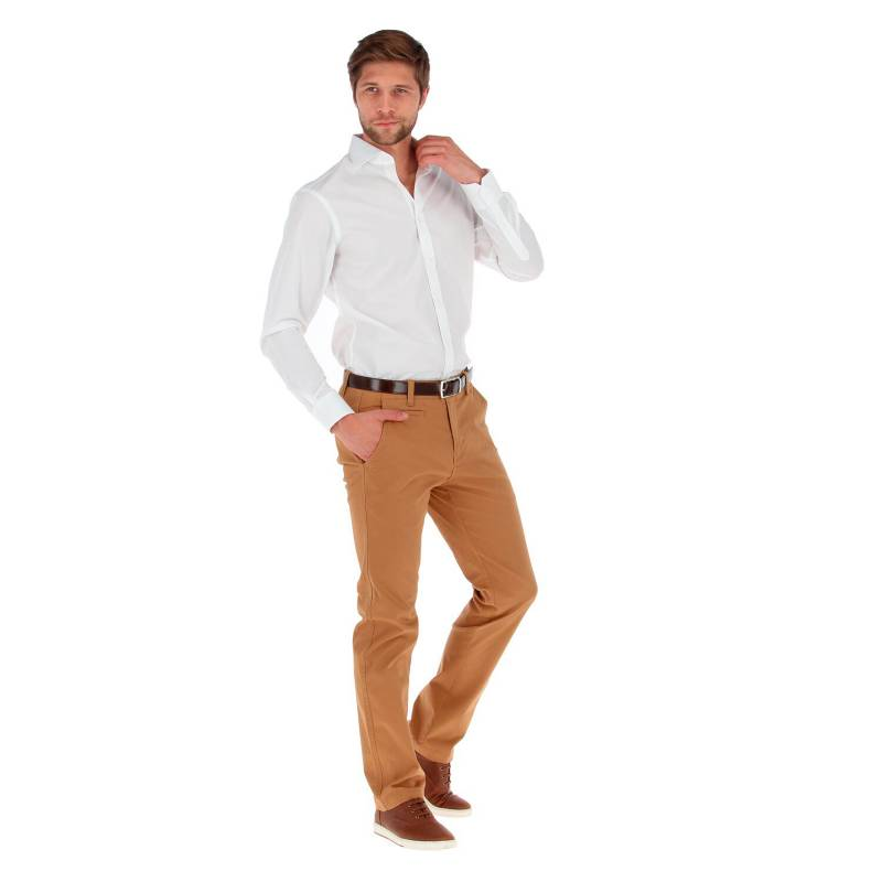 VAN HEUSEN - Camisa De Algodón Hombre