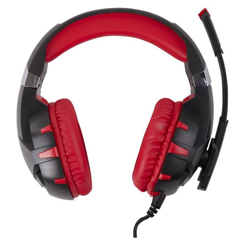 Generico - Audífonos Gamer Micrófono Noise Cancel Ps4 Pc Led