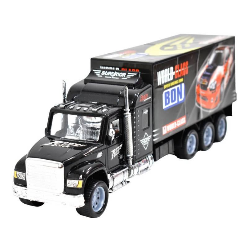 ARCOIRIS - Camión Escala 1:32 Fricción Transporte Autos