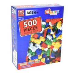 ARCOIRIS - Blocks Brick 500 Piezas