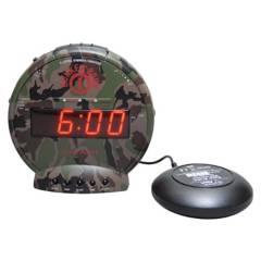 SONIC ALERT - Despertador con Vibración Bunker Bomb