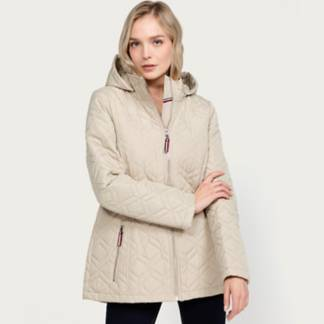 TOMMY HILFIGER - Impermeable Mujer