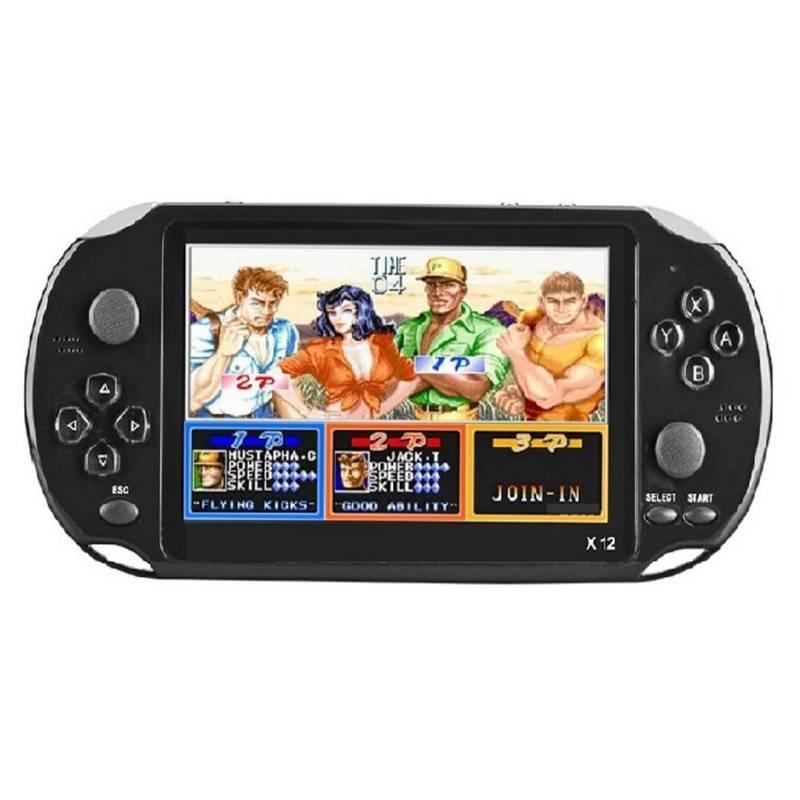 GENERICO - Consola De Video Juegos Retro X12 Negra