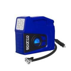 SPARCO - Compresor Aire Para Neumaticos Auto Sparco Spt163