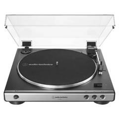 AUDIOTECHNICA - Tocadiscos Audio-technica AT-LP60X Gris