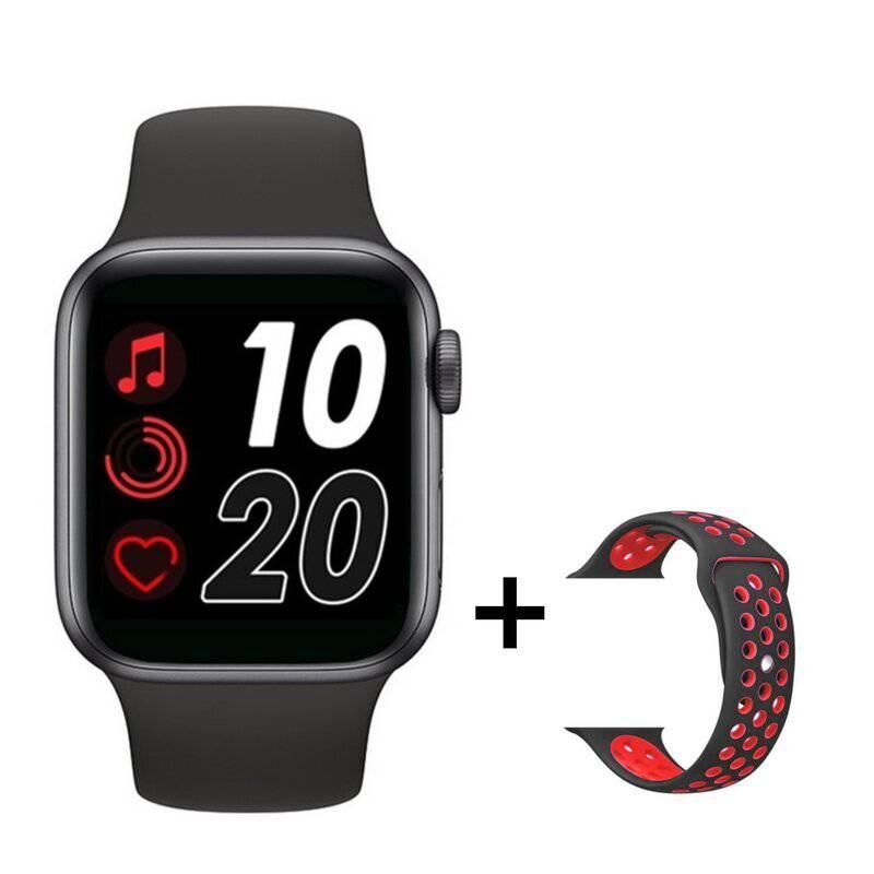 OEM - Reloj Inteligente Smartwatch T55 Negro / Rojo