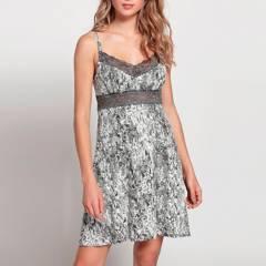 Barbizon - Camisa Mini Achel Gris