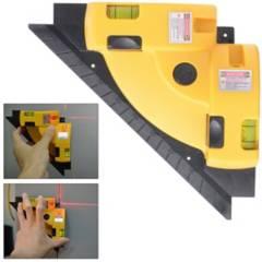 Generica - Nivelador Laser Escuadra Nivel En 90 Angulo Recto
