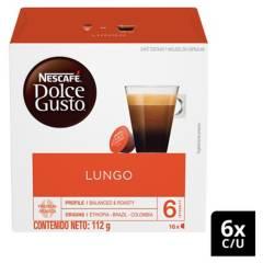 NESCAFE DOLCE GUSTO - Café En Cápsulas Lungo X6 Cajas