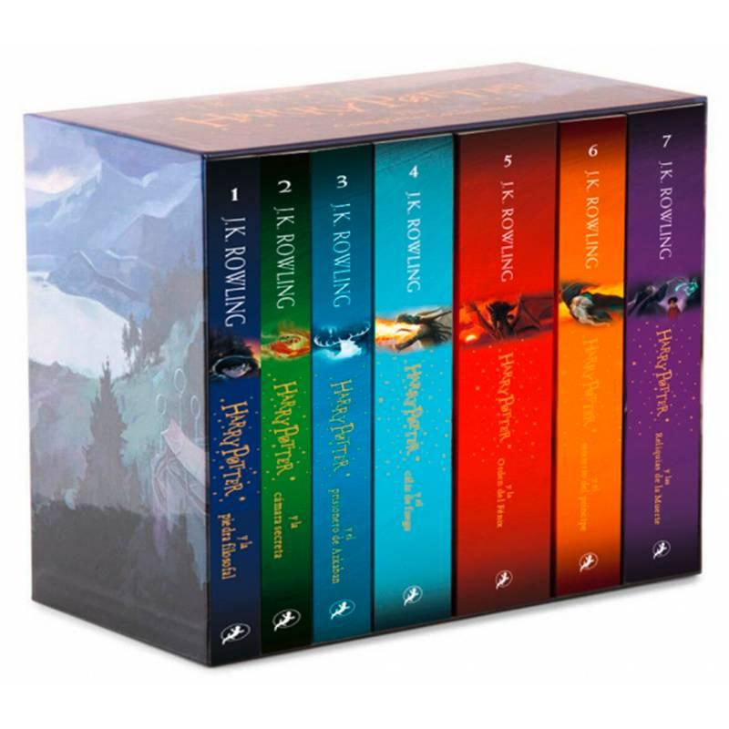 SALAMANDRA - Pack Harry Potter 7 Novelas