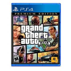 Rockstar - Gta V Grand Theft Auto V Premium Edition Ps4