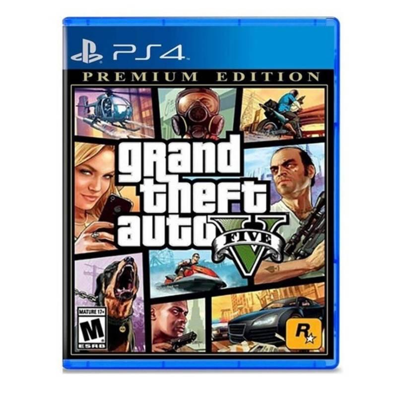 ROCKSTAR - Gta V Grand Theft Auto V Premium Edition Ps4