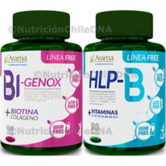 Arama - Colágeno Antialopécico Bi-Gnox  Vitamina B