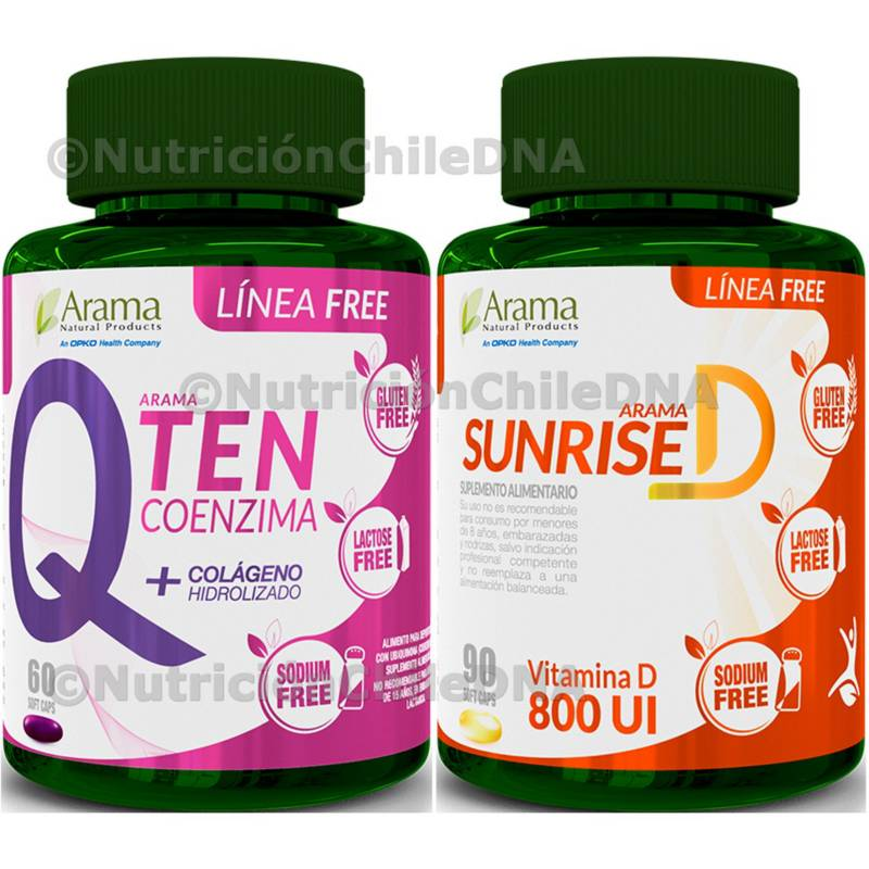 Arama - Colágeno Antiox Q10 C  E Qten  Vitamina D