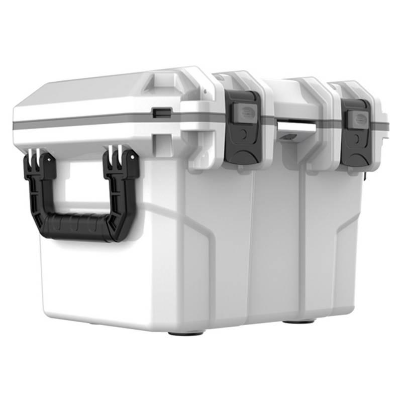 ASIAMERICA - Cooler 28 L 5 Días De Retención De Hielo Blanco
