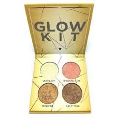 EMILY MAKEUP - Paleta De 4 Iluminadores Glow Kit Dolce Bella