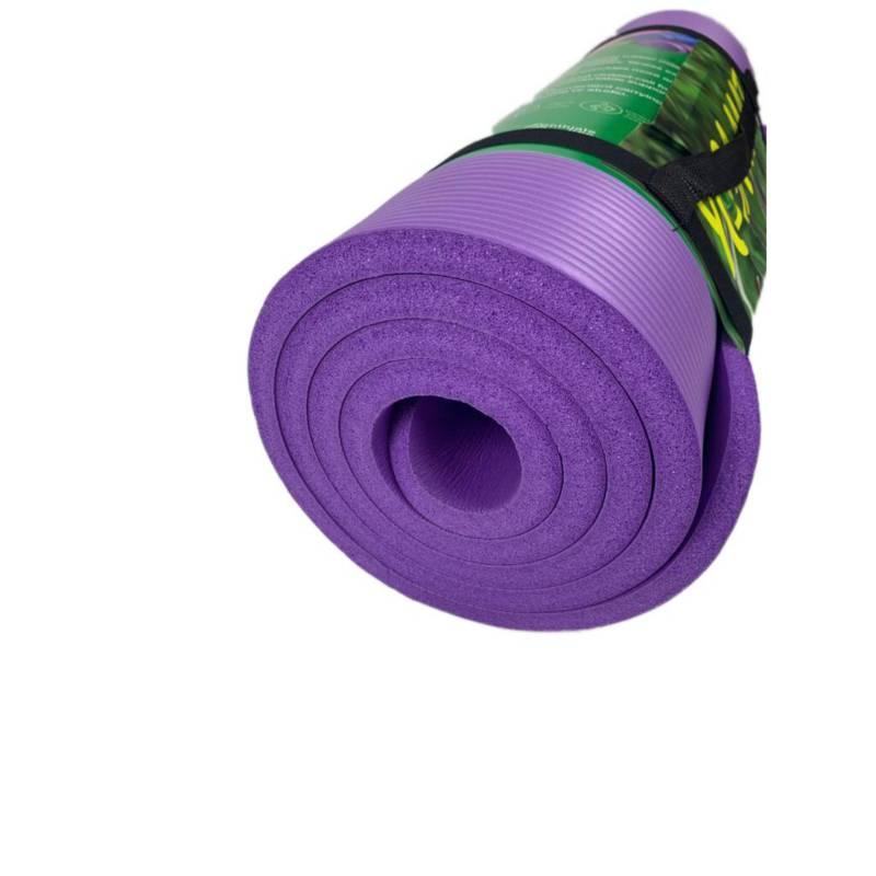 Colchoneta Mat Yoga Fitness Extra Grueso 15Mm