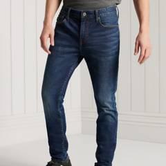 SUPERDRY - Jeans Skinny Henderson Dark Blue Hombre